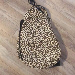 Accessories - Leopard print tennis bag